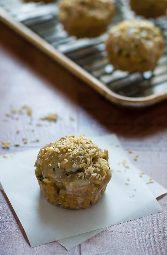 Zucchini Coconut Muffins-3