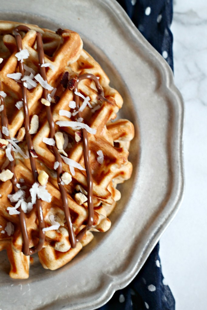 Hazelnut & Coconut Whole Wheat Waffles 1