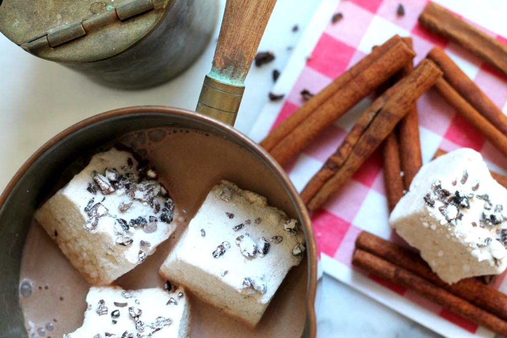 These marshmallows aren't only easy to make, but they make the perfect edible gift for the holidays!