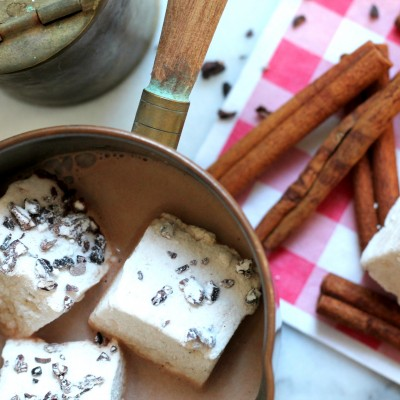 Homemade Cacao Nib Marshmallows