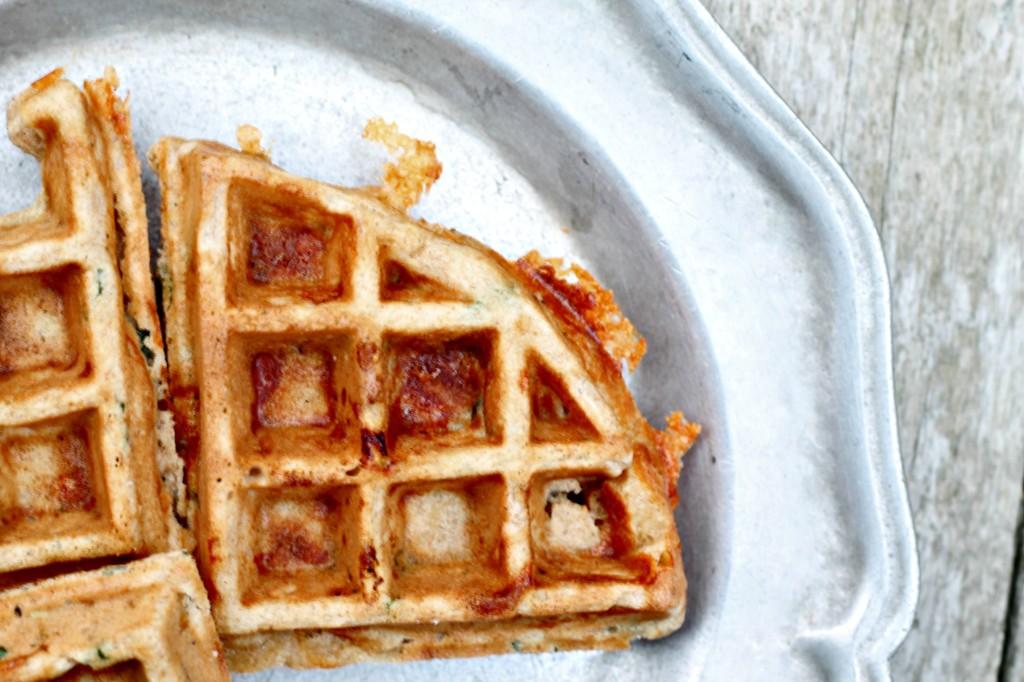Savory Cheddar Sage Waffles 2