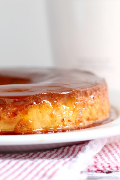Vanilla Rumchata Caramel Flan