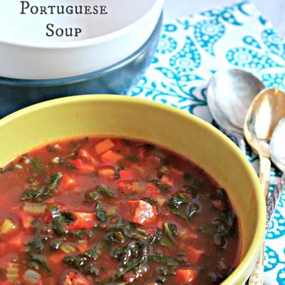 Kale and Linguica Portuguese Soup