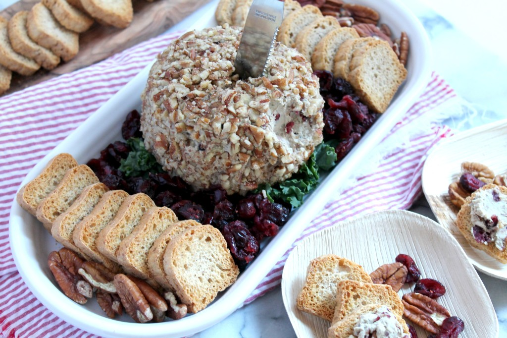 Whip up this Pecan & Cranberry Duck Mousse Spread for your holiday parties!