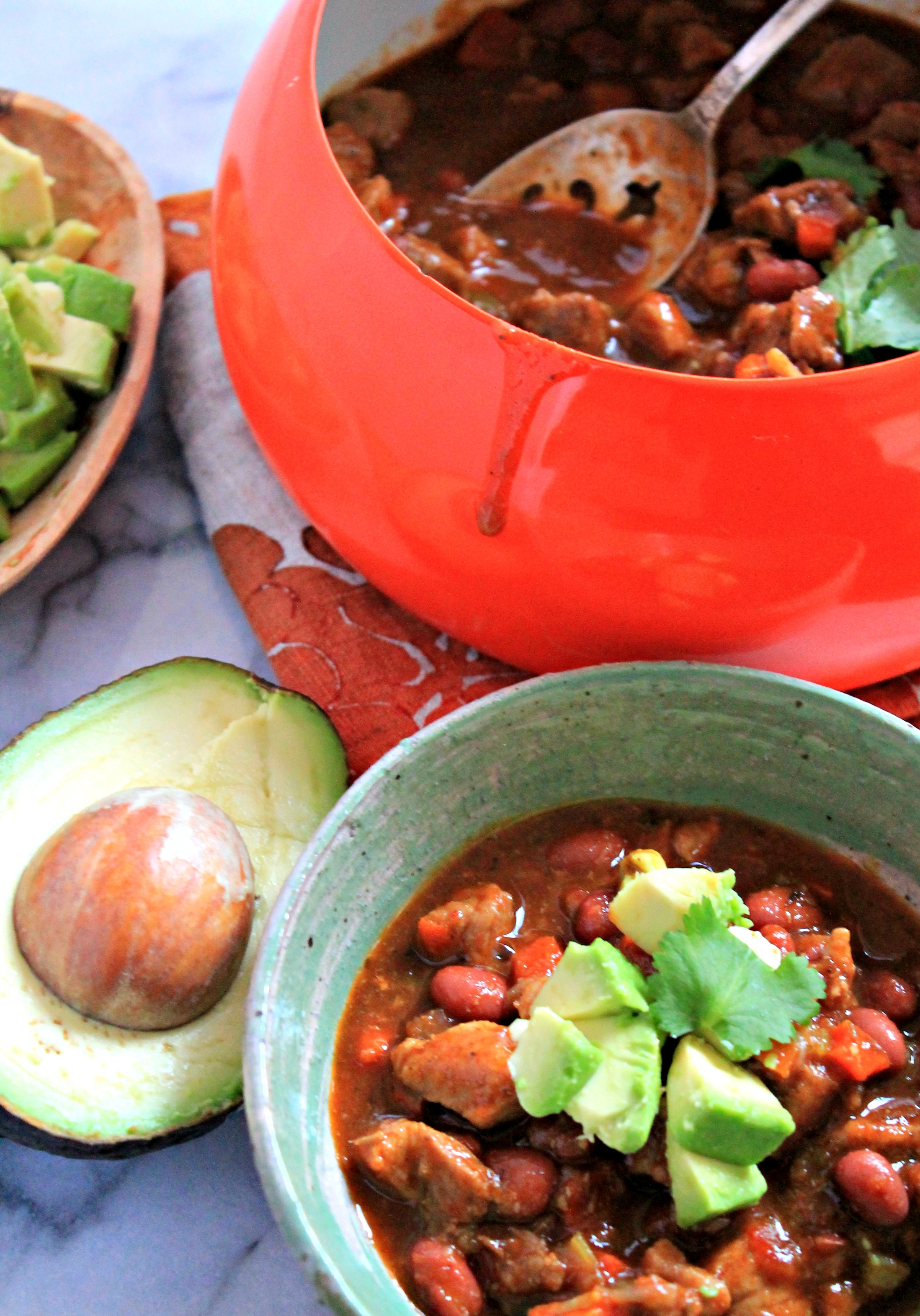 ... chili spicy vegetarian chili three bean chili red bean chili easy