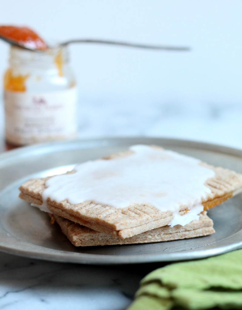 Whole Wheat Apricot Toaster Pastries