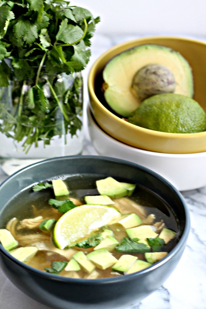 This Cilantro Lime Chicken Soup recipe is SO easy to make but the flavors will amaze you, so bright and herby!