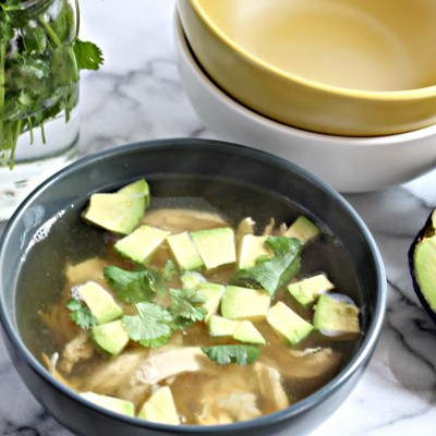 Cilantro Lime Chicken Soup