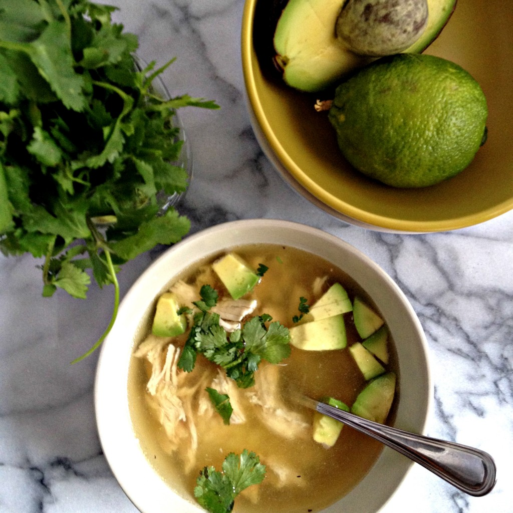 This Cilantro Lime Chicken Soup recipe is SO easy to make but the ...
