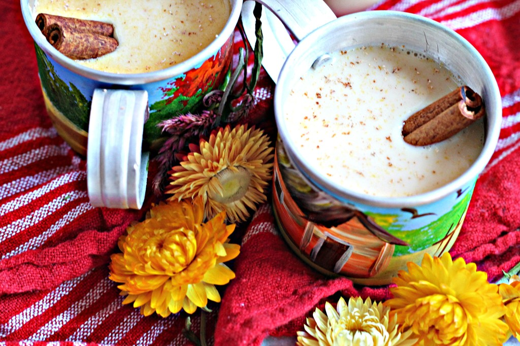 This classic Caribbean eggnog is packed with spiced rum and brandy, and comes from my Mom, who has been making this recipe for almost a decade!