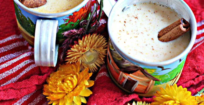 This classic Caribbean eggnog is packed with spiced rum and brandy, and comes for my Mom, who has been making this recipe for almost a decade!