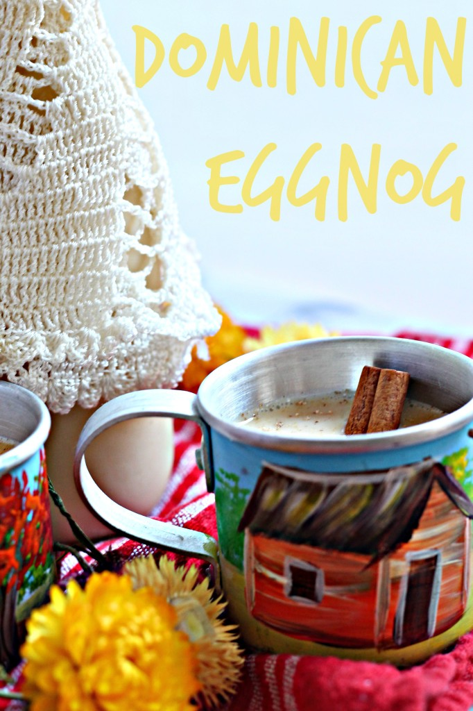 This classic Dominican eggnog is packed with spiced rum and brandy, and comes from my Mom, who has been making this recipe for almost a decade!