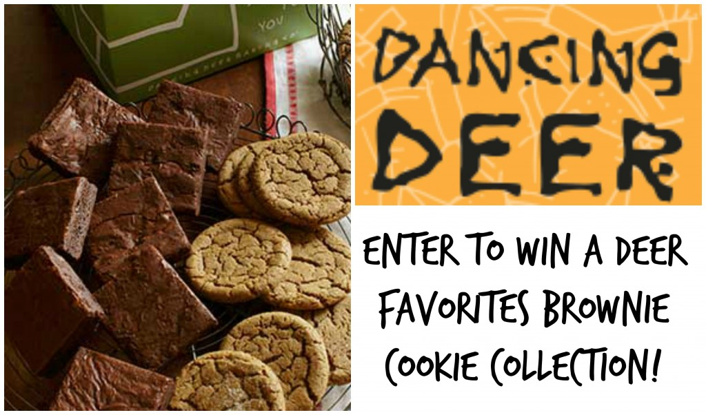 Enter to win Dancing Deer Co. Deer Favorites Brownie Cookie Collection