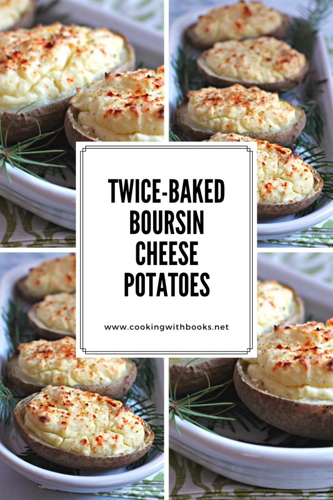 Twice-Baked Boursin Cheese Potatoes