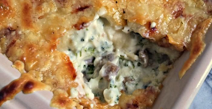 Jarlsberg Broccoli & Mushroom Cheese Dip