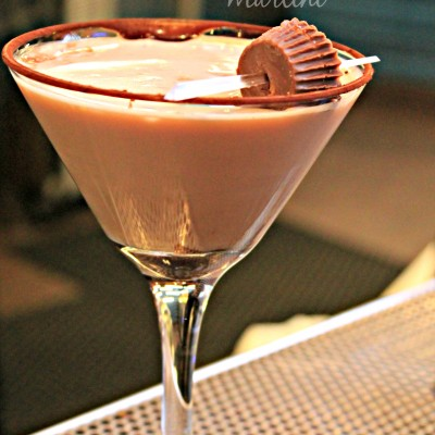 """Peanut Butter Cup Martini at Hershey's """"The Chocolate Bar"""""""