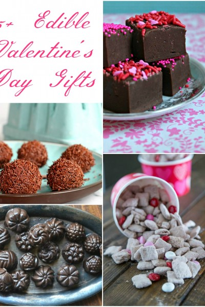 25+ Edible Valentine's Day Gifts