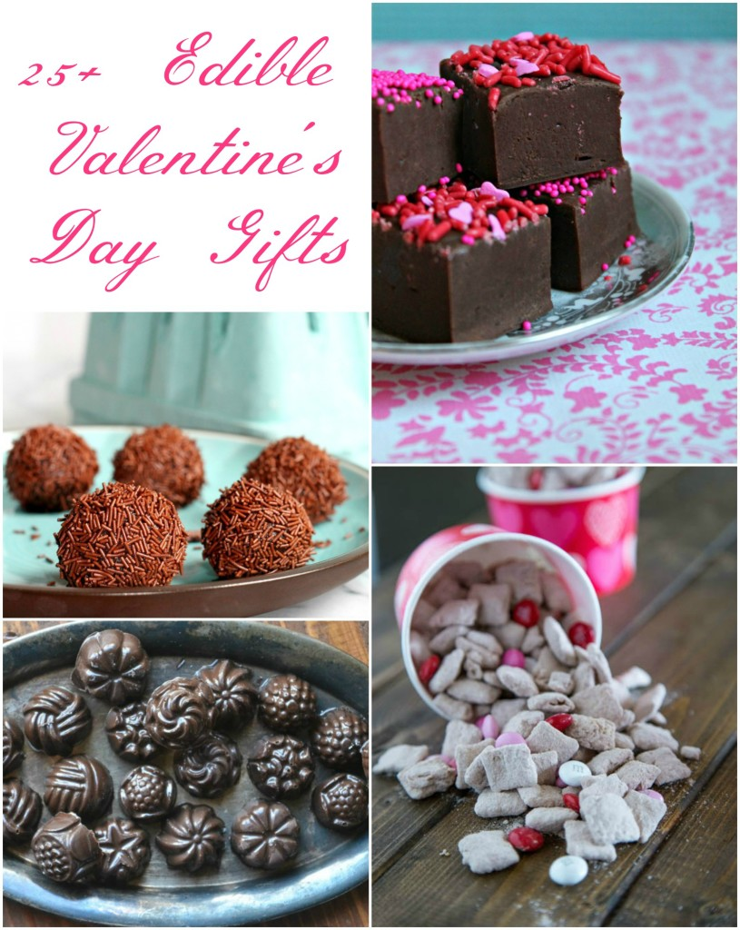 25 edible Valentine's Day gifts, because every sweetheart deserves something sweet to eat! | Recipes on CookingWithBooks.net