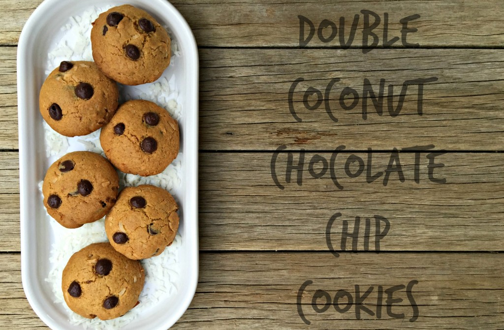 Double Coconut Chocolate Chip Cookies 2