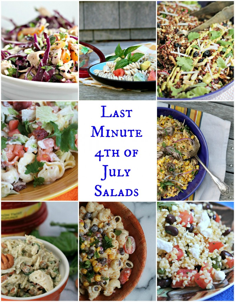 10 Last Minute 4th of July Salad Recipes