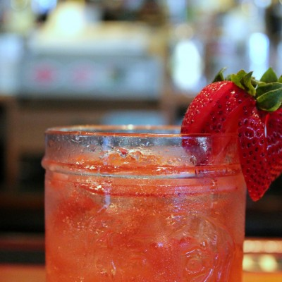 Strawberry Fields Forever Cocktail