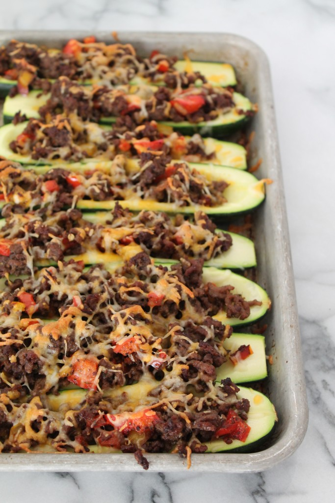 These Mexican-style Beef Stuffed Zucchini make the ideal summer meal ...
