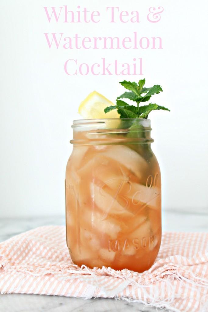 White Tea & Watermelon Cocktail 01