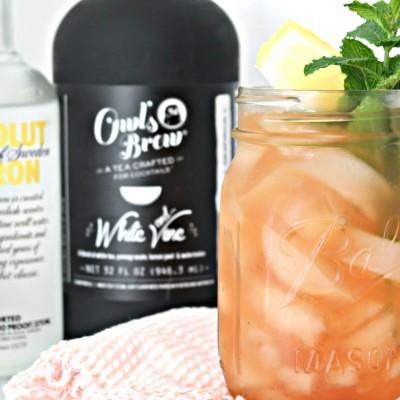 White Tea & Watermelon Cocktail