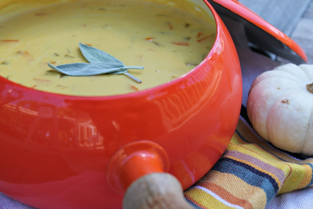 Perfect for the cooler temperatures: Beer Cheese Soup