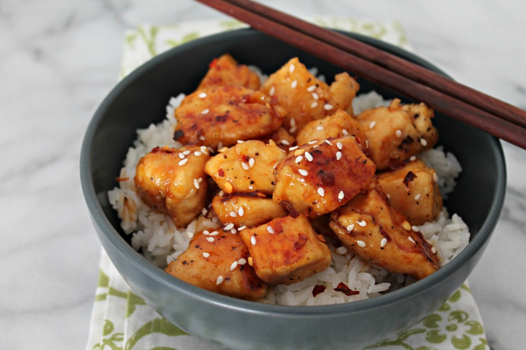 Honey Sriracha Chicken Recipe - Cooking with Books