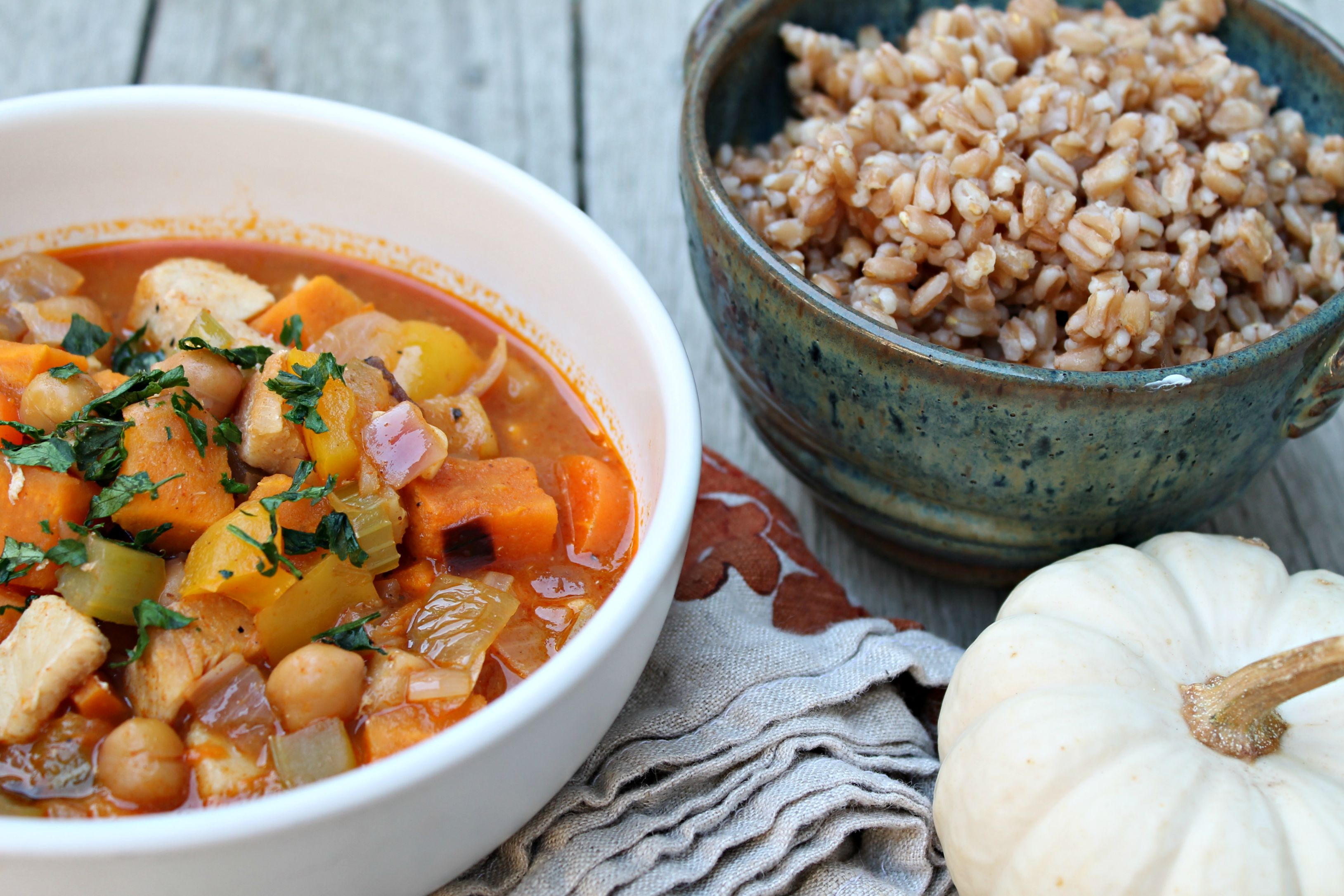Chicken Chickpea Curry Soup