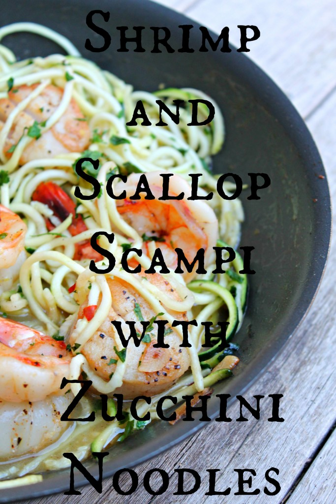 Shrimp and Scallop Scampi with Zucchini Noodles 03