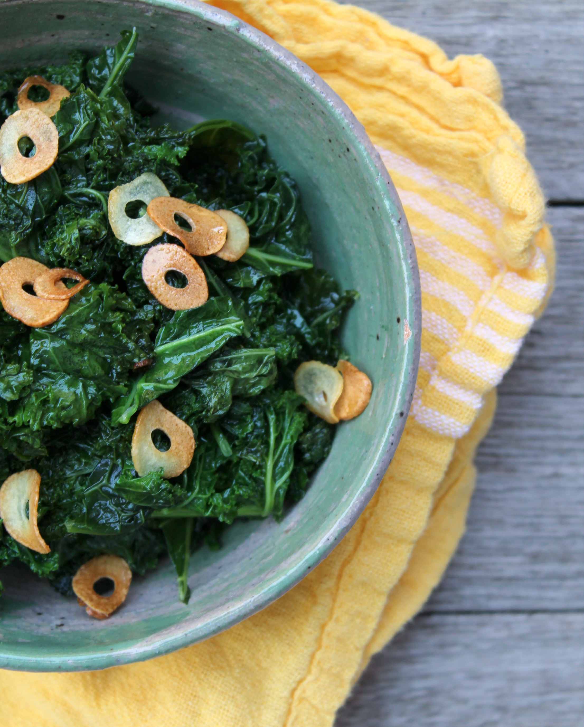 Garlicky Sautéed Kale