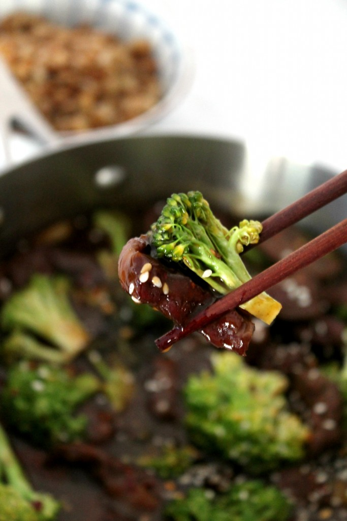 Beef and Broccoli Recipe - A healthy, homemade version of your favorite takeout dish.