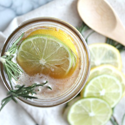 Homemade Herbal Cough Syrup