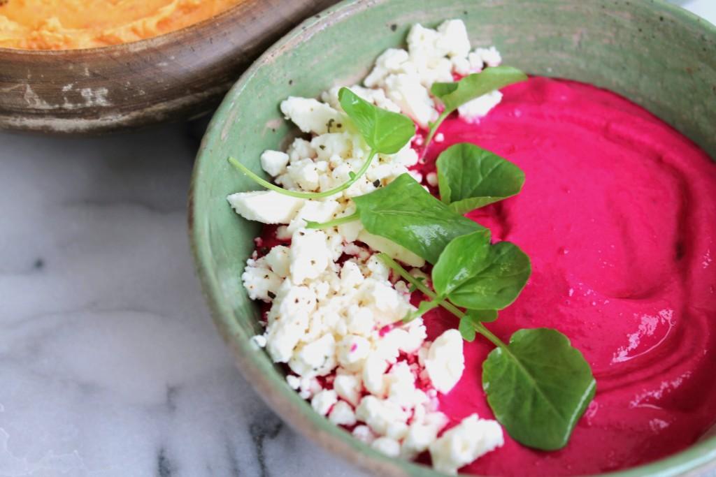 Creamy Greek Yogurt and Beet Dip