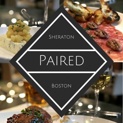 The Paired Menu of Sheraton Boston Hotel