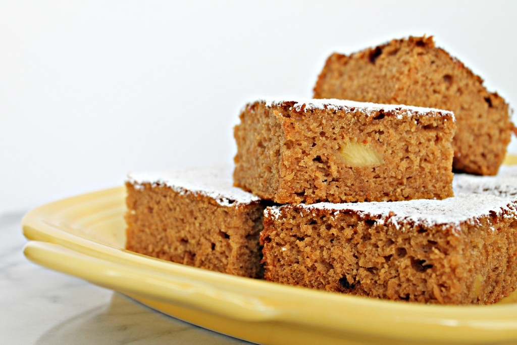 Vegan Pineapple Snack Cake 02