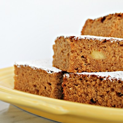 Vegan Pineapple Snack Cake