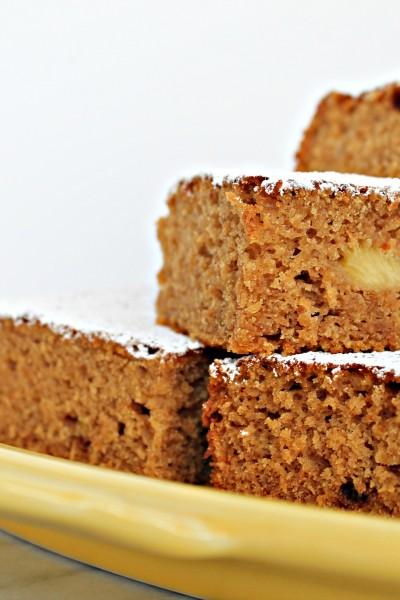 Vegan Pineapple Snack Cake
