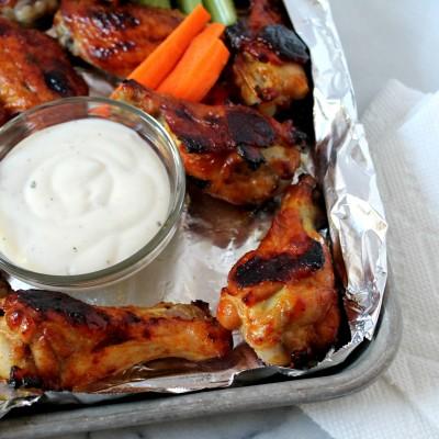 Sweet & Spicy Glazed Wings