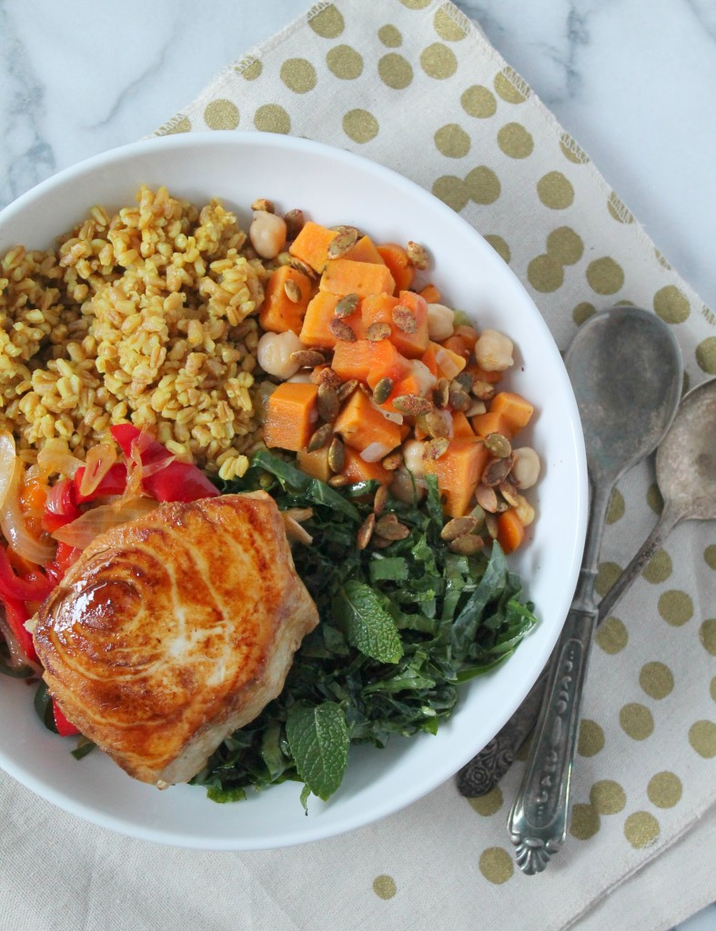 Swordfish Grain Bowl 01