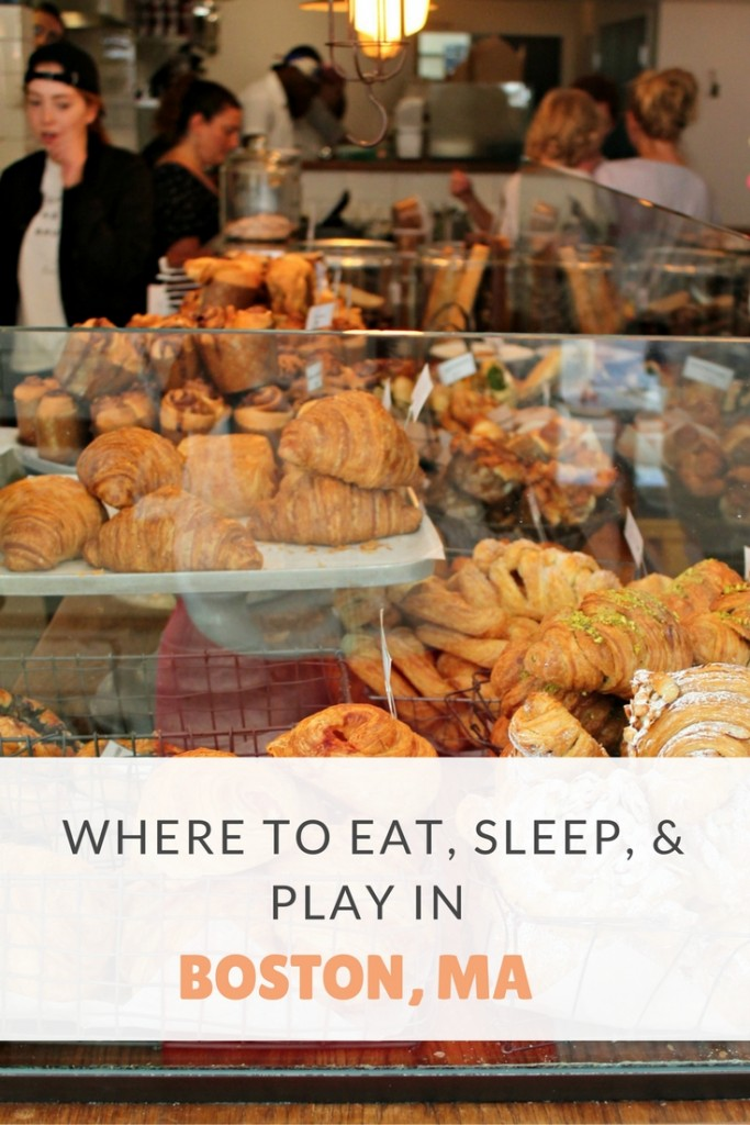 Where to Eat, Sleep, and Play In Boston, MA