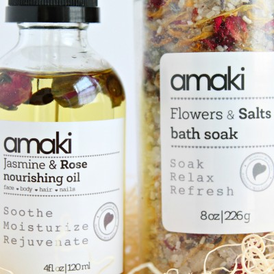 Beauty for Foodies: Amaki Skincare