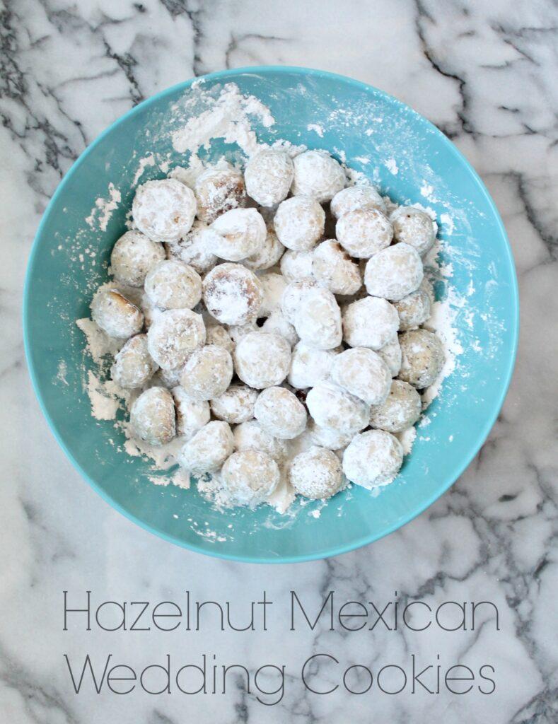 Hazelnut Mexican Wedding Cookies recipe