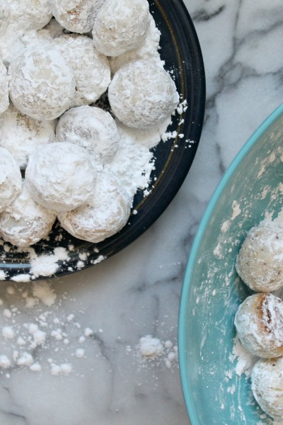 Hazelnut Mexican Wedding Cookies