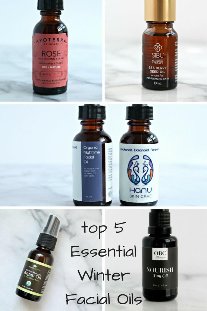 5 Essential Winter Facial Oils