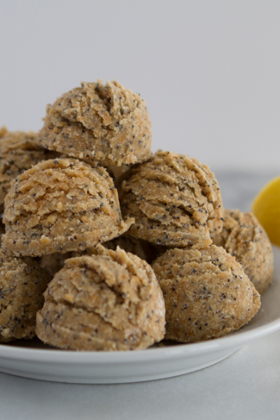 Lemon No Bake Protein Bites recipe
