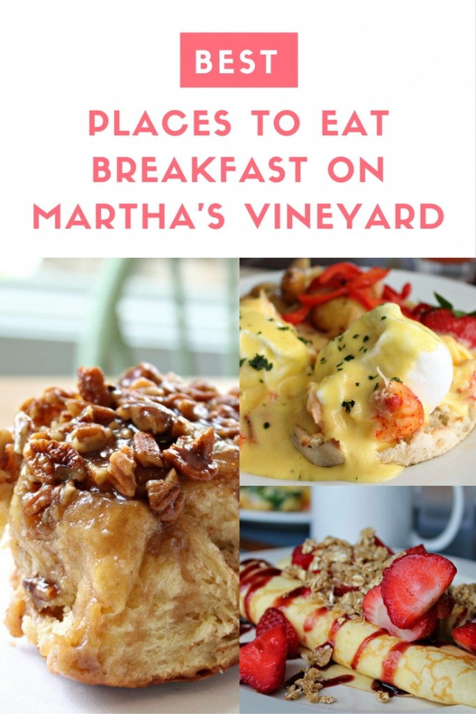 Best Places to Eat Breakfast on Martha's Vineyard