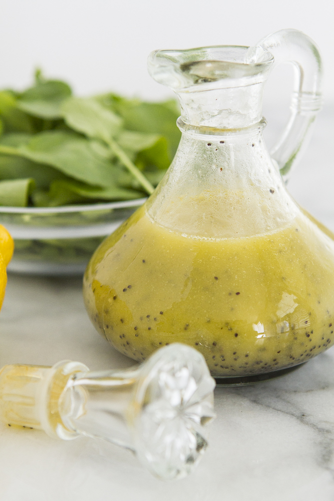 Lemon Poppyseed Salad Dressing recipe